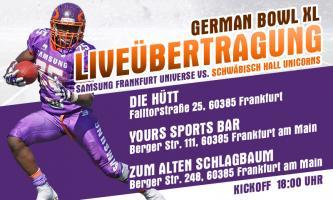 Sport1 Live-Übertragung in Frankfurt