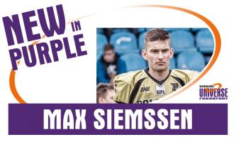 Junior Bowl Gewinner Max Siemssen kommt nach Frankfurt
