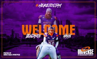 Welcome im Team Universe, Benjamin Hahn!