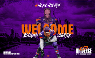 Welcome im Team Universe, Benjamin Schuster!